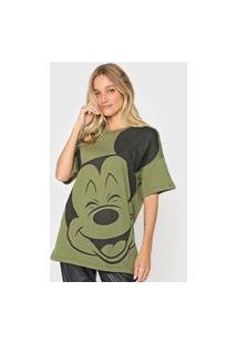 Camiseta Colcci Mickey Verde