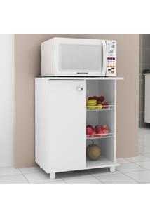 Armário De Cozinha Fruteira 1 Porta Bf3205 Branco - Tecno Mobili