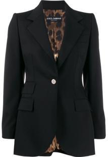 Dolce & Gabbana Blazer De Alfaiataria - Preto