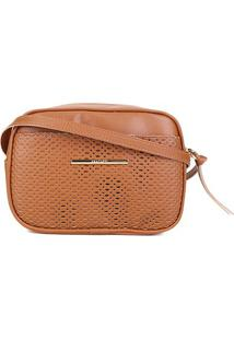 Bolsa Anacapri Mini Bag Eco Montreal Feminina - Feminino-Marrom