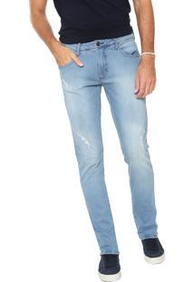 Calça Jeans Forum Slim Igor Azul