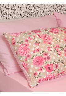 Fronha Ivvi Tex Melody Estampada Adulto - 50X70 - Estampado