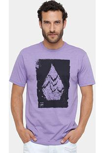 Camiseta Volcom Silk Disruption Masculina - Masculino