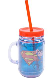 Caneca Minas De Presentes Superman Azul