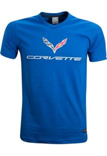 Camisa Liga Retrô Premium Corvette Logo Central - Masculino