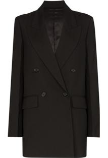 Joseph John Double-Breasted Blazer - Preto