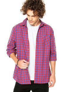 Camisa Star Point Bolso Vermelha