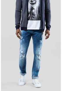 Calca Jeans +5561 Ceres Claro Reserva Masculina - Masculino