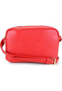 Bolsa Colcci Mini Bag Established 1986 Feminina - Feminino-Vermelho