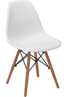 Cadeira Impã©Rio Brazil Charles Eames Eiffel - Branco/Incolor - Dafiti