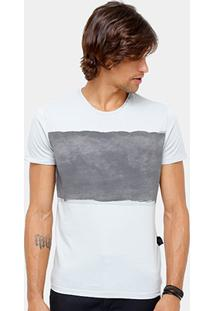 Camiseta Ellus Stone Bicolor Masculina - Masculino