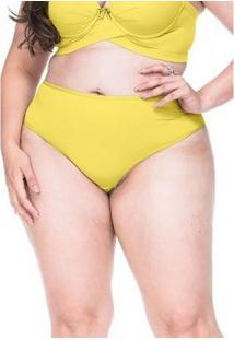 Calcinha Lamour Sempre Sensual Lingerie - Feminino-Amarelo