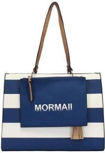 Bolsa Estruturada Mormaii 2 Em 1 Feminina - Feminino-Azul