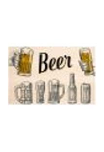 Painel Adesivo De Parede - Cerveja - Bar - 1422Pnm