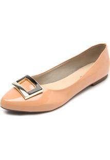 Sapatilha Dafiti Shoes Verniz Coral