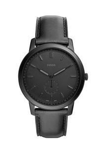 fb146fc4f24 Off Premium. Relógio Preto Masculino Fossil ...