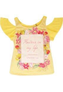 Regata Sweet - Authoria - Feminino-Amarelo