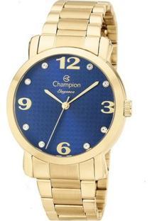 Relógio Champion Elegance Cn26279F - Feminino-Incolor