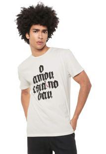 Camiseta Reserva No Bar Off-White