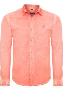 Camisa Masculina Jason Tangerine - Laranja