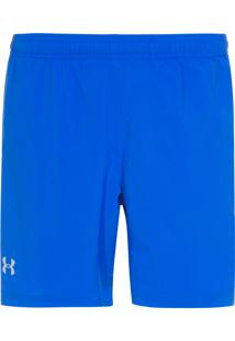 Short Masculino Ua Launch Sw 2 In 1 - Azul