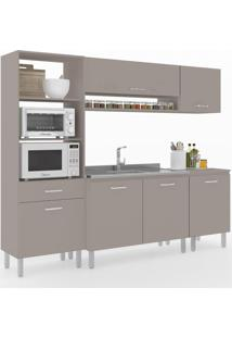Cozinha Compacta Uccelli 6 Portas 1 Gaveta 600072 Moon - Vedere