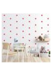 Adesivo Decorativo De Parede - Kit Com 85 Flores - 013Kac18