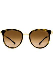 Óculos Michael Kors Adrianna I Mk1010 110113/54 - Feminino-Dourado