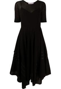 See By Chloé Vestido Com Bainha Assimétrica - Preto