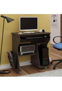 Rack Para Computador Mdf Cor Imbua Com Preto 3093 Artely