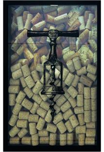 Quadro Porta Rolhas 17X27 67284-Kapos - Betume