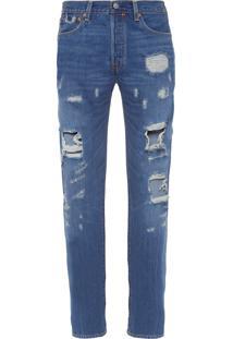Calça Masculina Jeans 501 Original - Azul