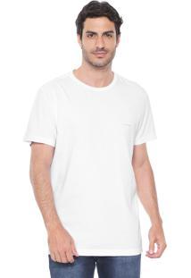 Camiseta Richards Logo Branca