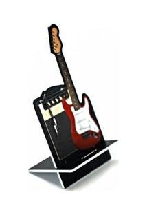 Porta Celular Guitarra Rock