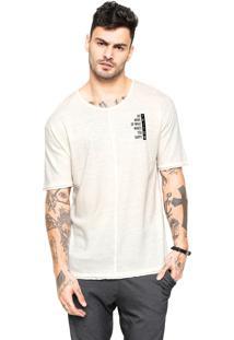 Camiseta Triton Estampada Off White