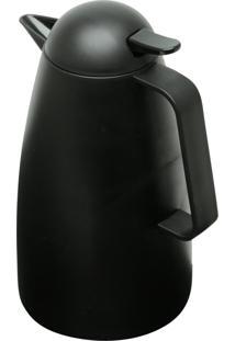 Garrafa Térmica Rojemac De Plástico C/Gatilho Sarah Preta - Kanui