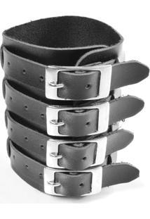 Bracelete Quatro Fivelas - Unissex