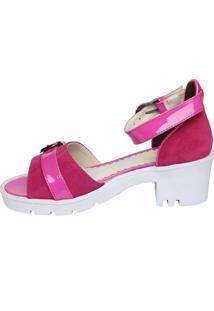 Sandália Opposite Tiras Pink