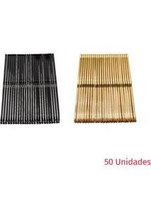 Proart - Grampos Para Cabelo 50 Unidades - Pr/Dr Ch40150