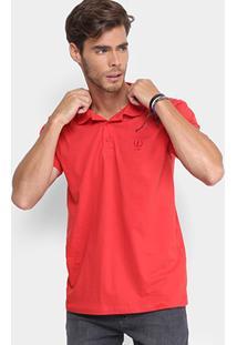 Camisa Polo Coca-Cola Malha Básica Masculina - Masculino