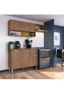 Cozinha Compacta 3 Peças 5 Portas Madri Siena Móveis Teka