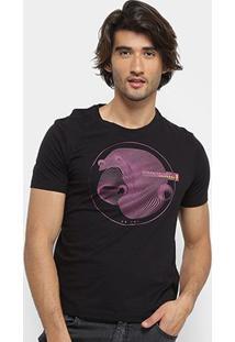 Camiseta Zoomp Alone Masculina - Masculino-Preto
