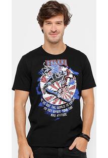 Camiseta Colcci Dragão Masculina - Masculino