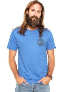 Camiseta Quiksilver First Time Azul
