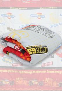 Edredom Santista Dupla Face Disney Cars Speed Cinza - Tricae