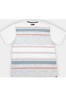 Camiseta Plus Size Hurley Silk Oversize Especial Pupokea Masculina - Masculino
