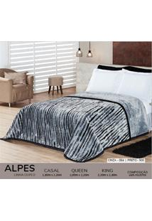 Cobertor Queen Dupla Face Duplo - Alpes