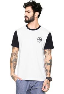 Camiseta Quiksilver Snaken Branca