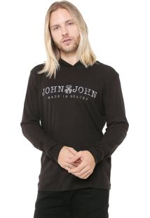 Camiseta John John Ribana Preta