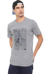 Camiseta Volcom Line Tone Cinza